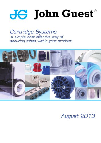 Cartridge Systems A simple cost effective way of securing tubes within your product