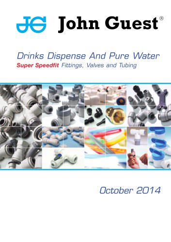 Drinks Dispense And Pure Water Super Speedfit Fittings, Valves and Tubing