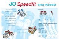 JG Speedfit® Brass Manifolds Leaflet