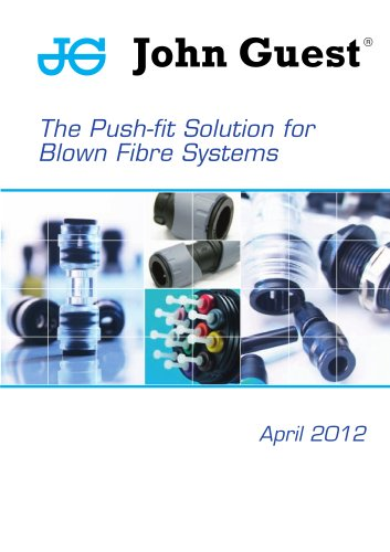 John Guest® Blown Fibre and Minicable Applications