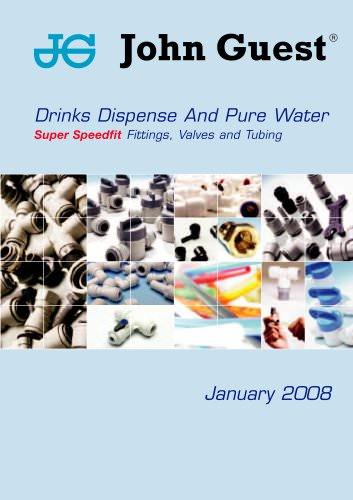 John Guest® Drinks Dispense and Pure Water Catalogue
