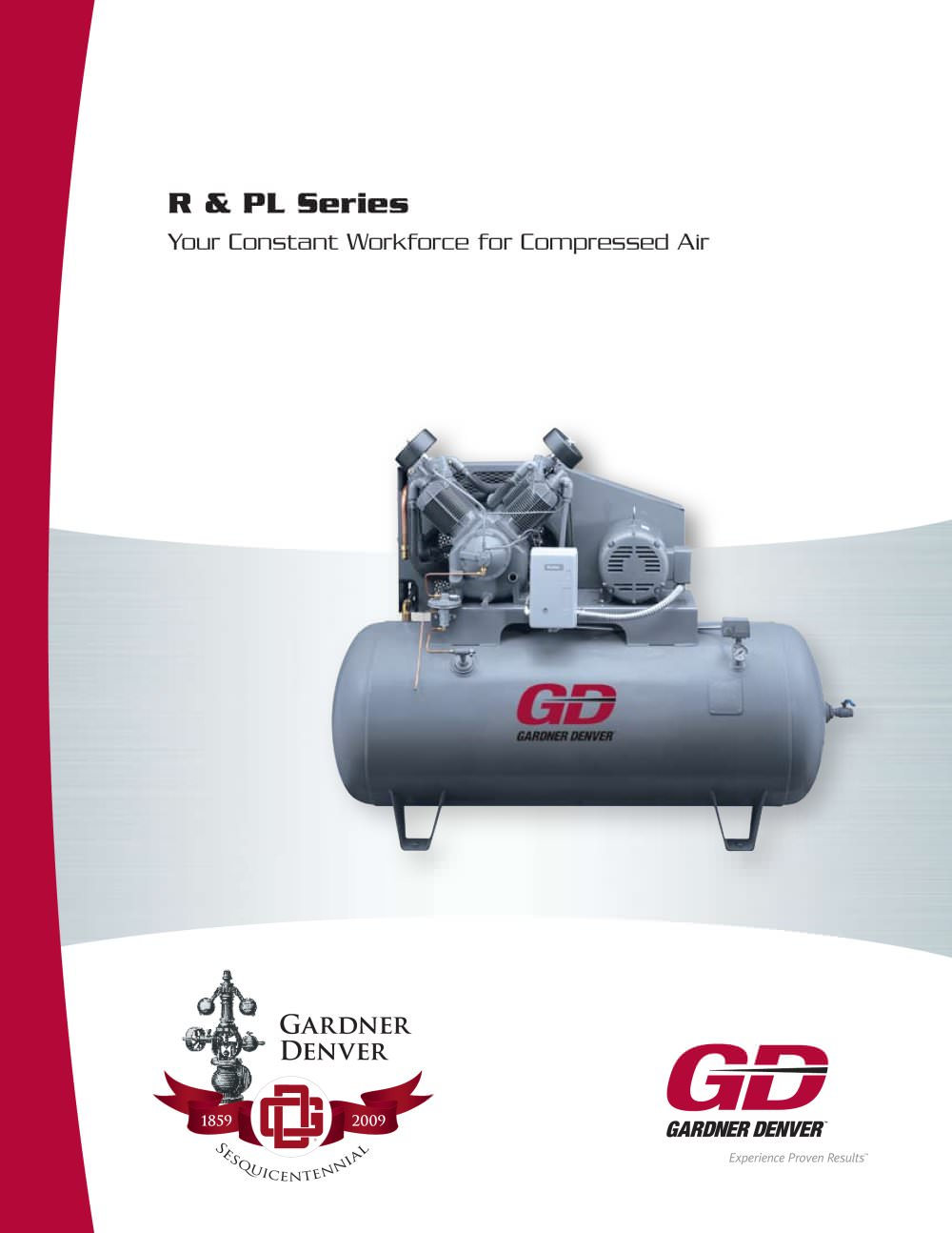 R Series Gardner Denver Pdf Catalogue Technical Documentation Motor Wiring Diagrams 1 12 Pages