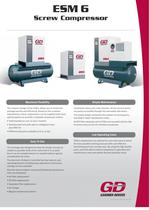 Rotary Screw 50Hz - ESM 6 Brochure