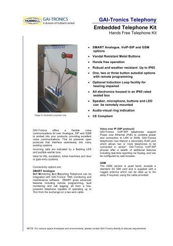Embedded Phone Kit