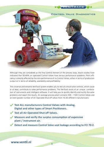 VenTrack - Ventil Test Equipment BV - PDF Catalogs | Technical