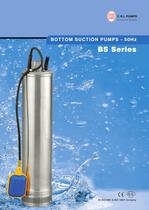 BOTTOM SUCTION PUMPS 50Hz