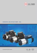 HORIZANTAL MULTISTAGE PUMPS 50 HZ