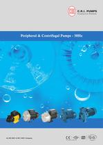 PERIPHERAL CENTRIFUGAL PUMPS 50 HZ
