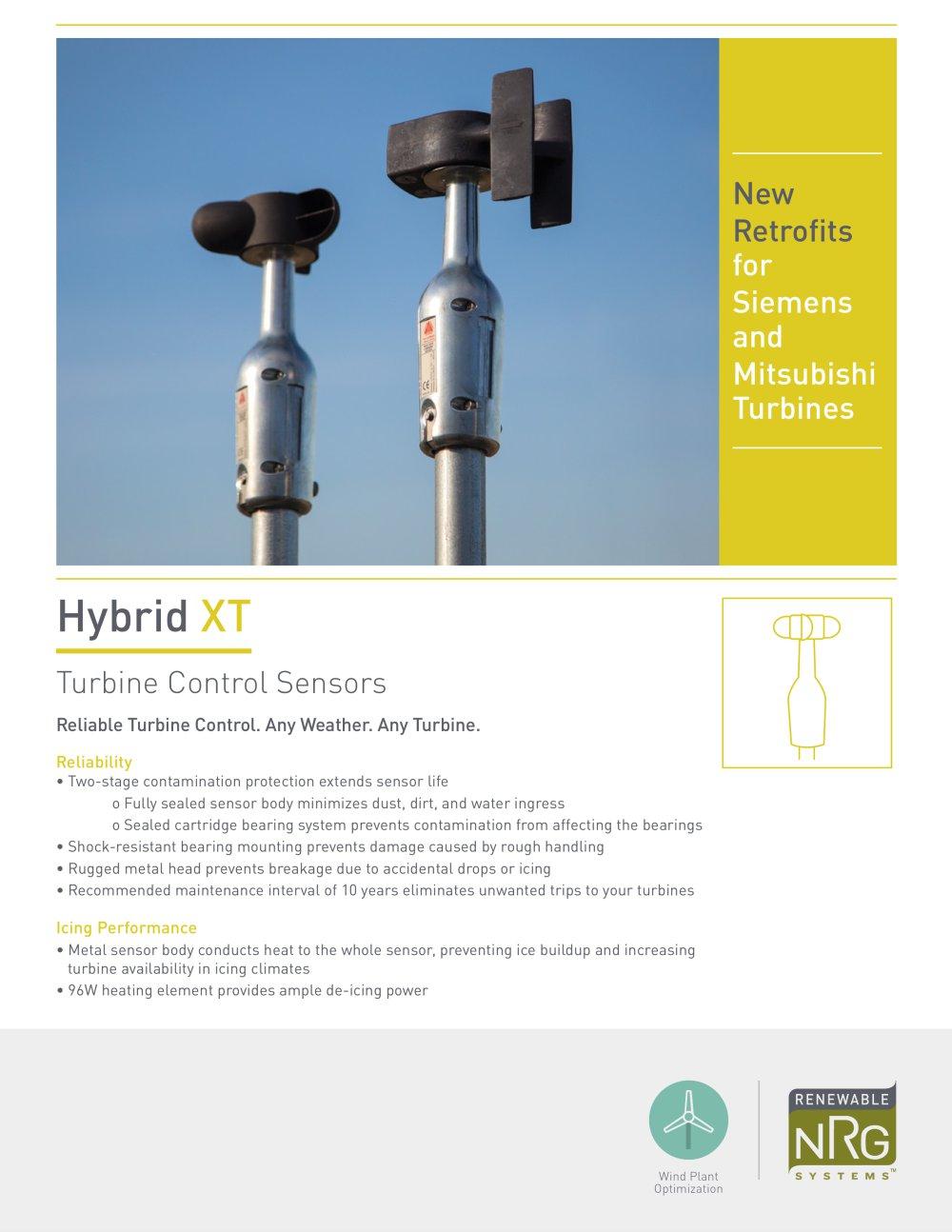HYBRID XT TURBINE CONTROL SENSORS - NRG Systems - PDF Catalogue ...