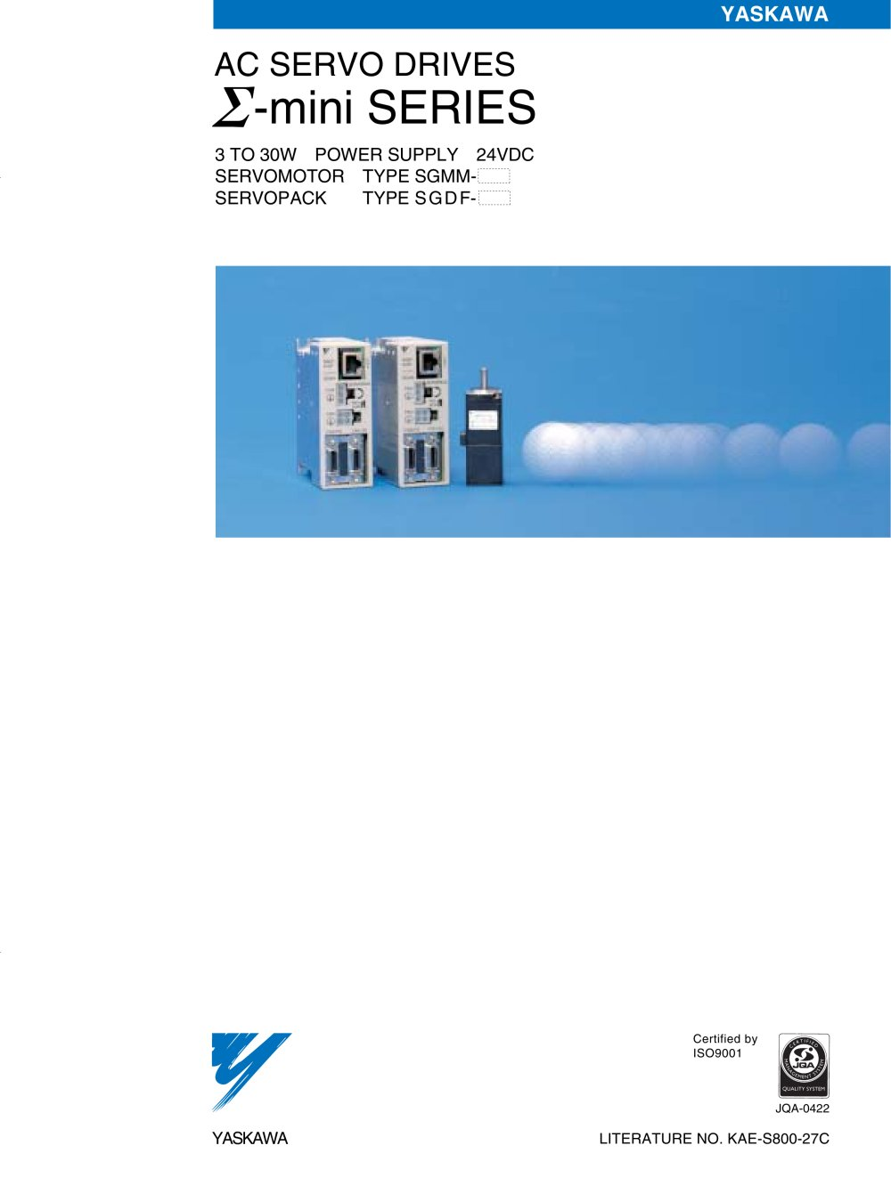 AC SERVO DRIVES ?(Sigma)-mini SERIES - YASKAWA - PDF Catalogue ...