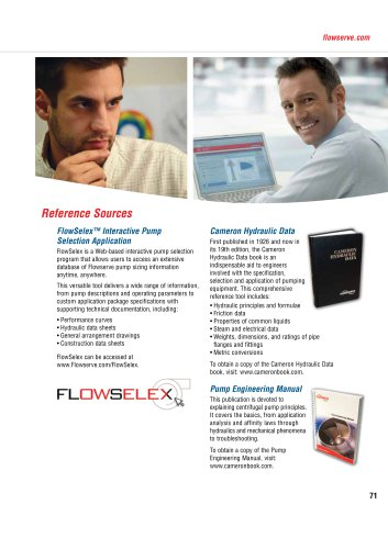 Flowserve Pump Product Catalog