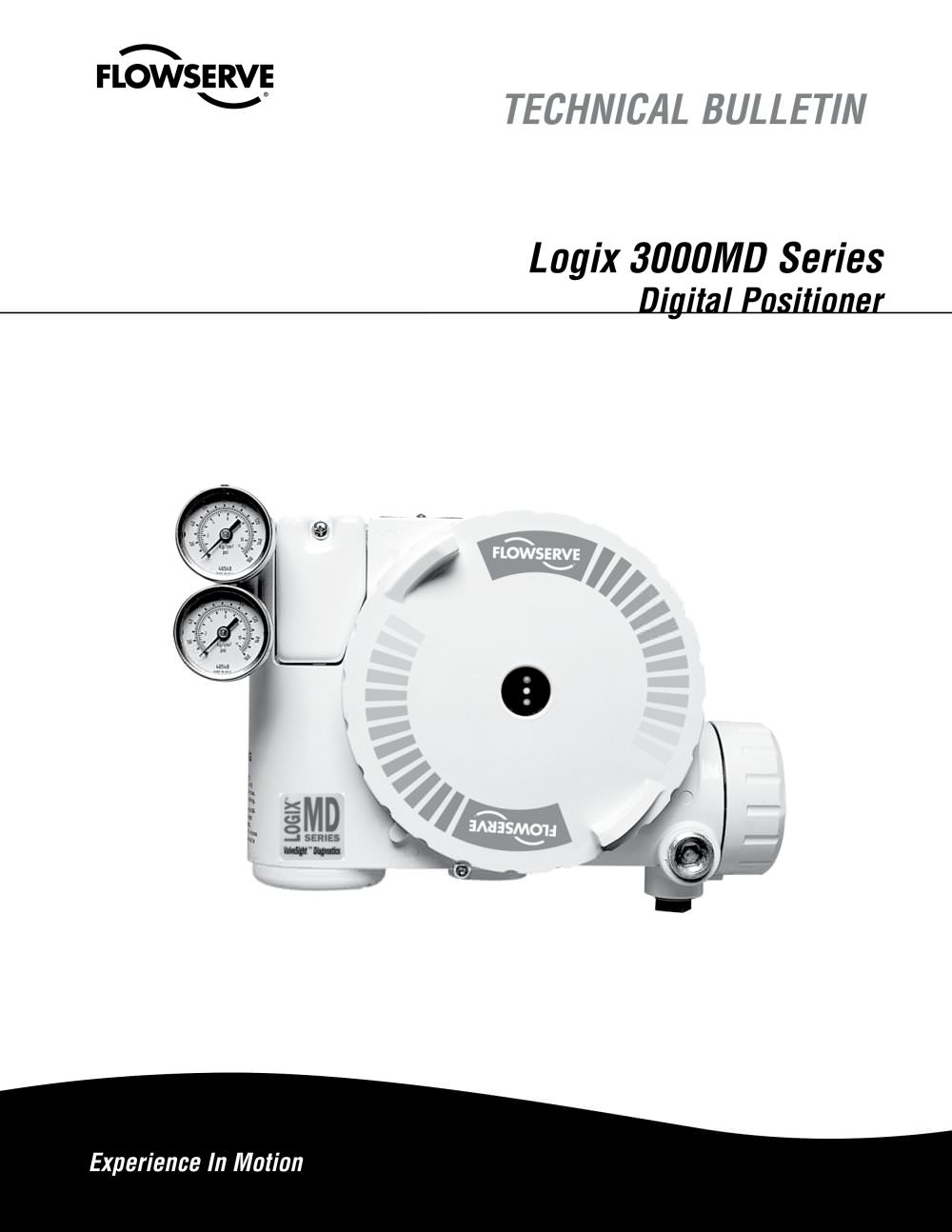 Logix 3000MD Series Digital Positioner Technical Brochure - 1 / 16 Pages
