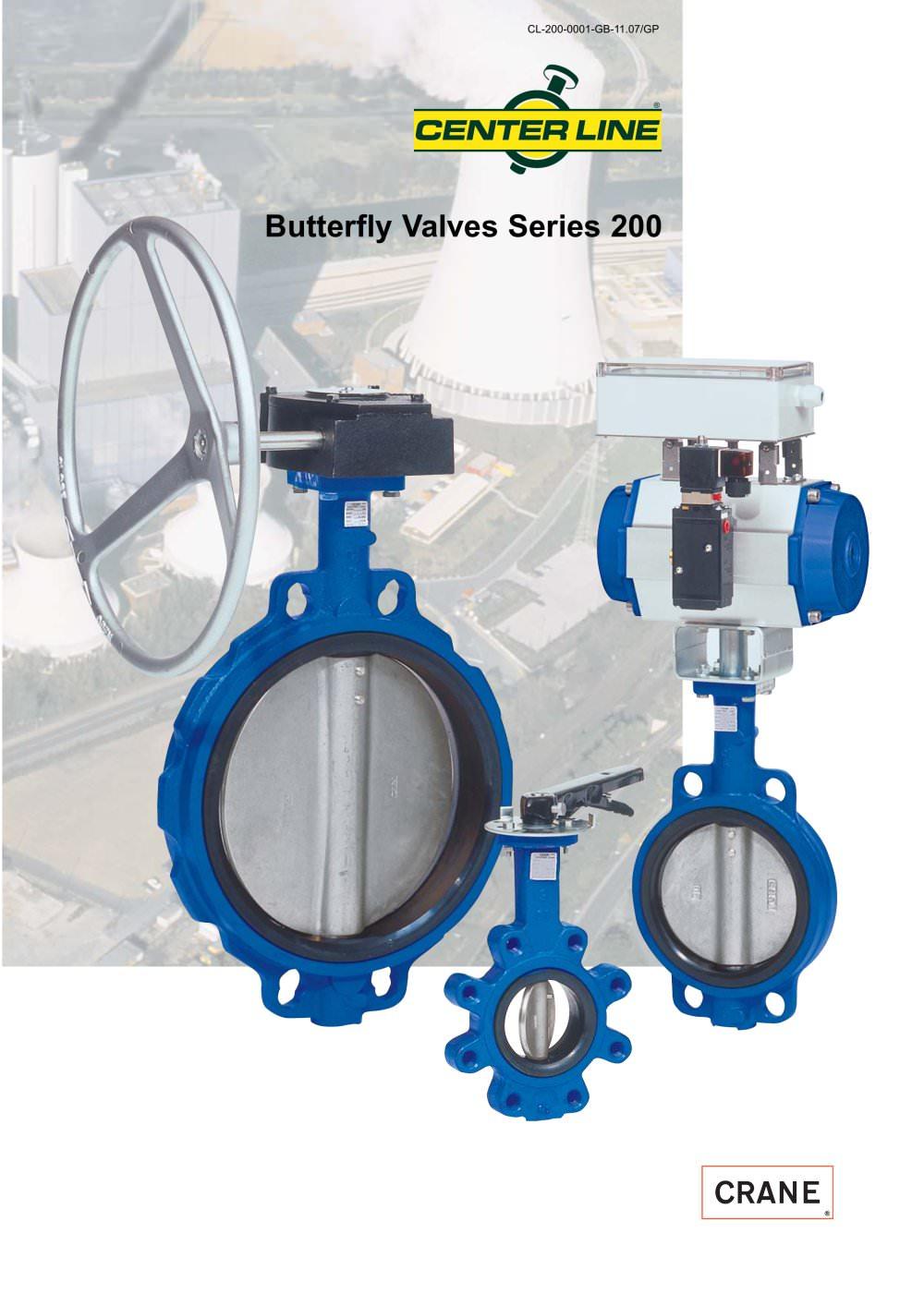 Centerline Butterfly Valves Series 200 Crane Process Flow