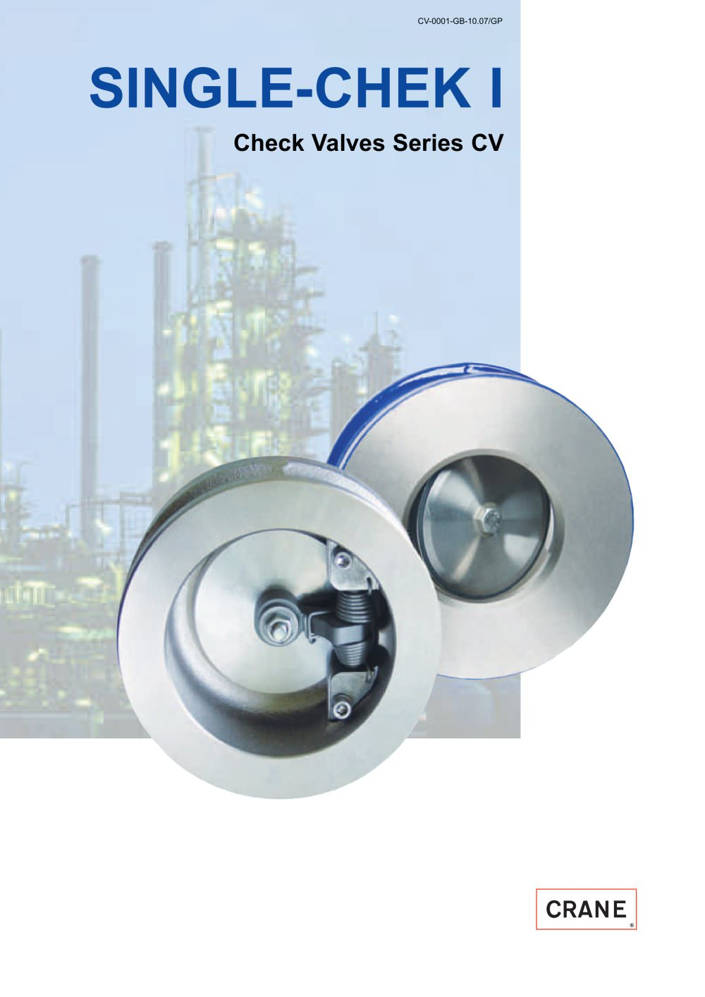 SINGLE-CHEK I Check Ball Valves Series CV - 1 / 8 Pages