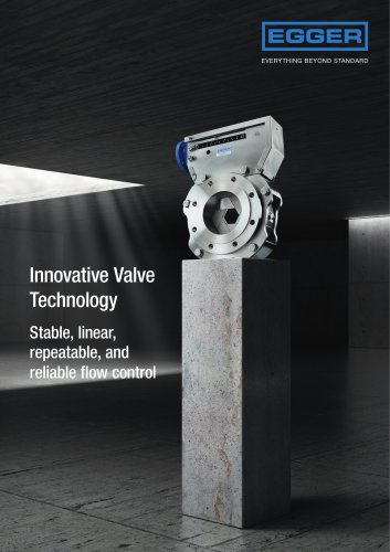 Aeration air flow control with Egger Iris diaphragm control valves