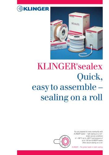 KLINGEITsealex - KLINGER - PDF Catalogs | Technical