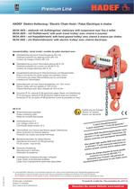 66/04 AK  Electric Chain Hoist