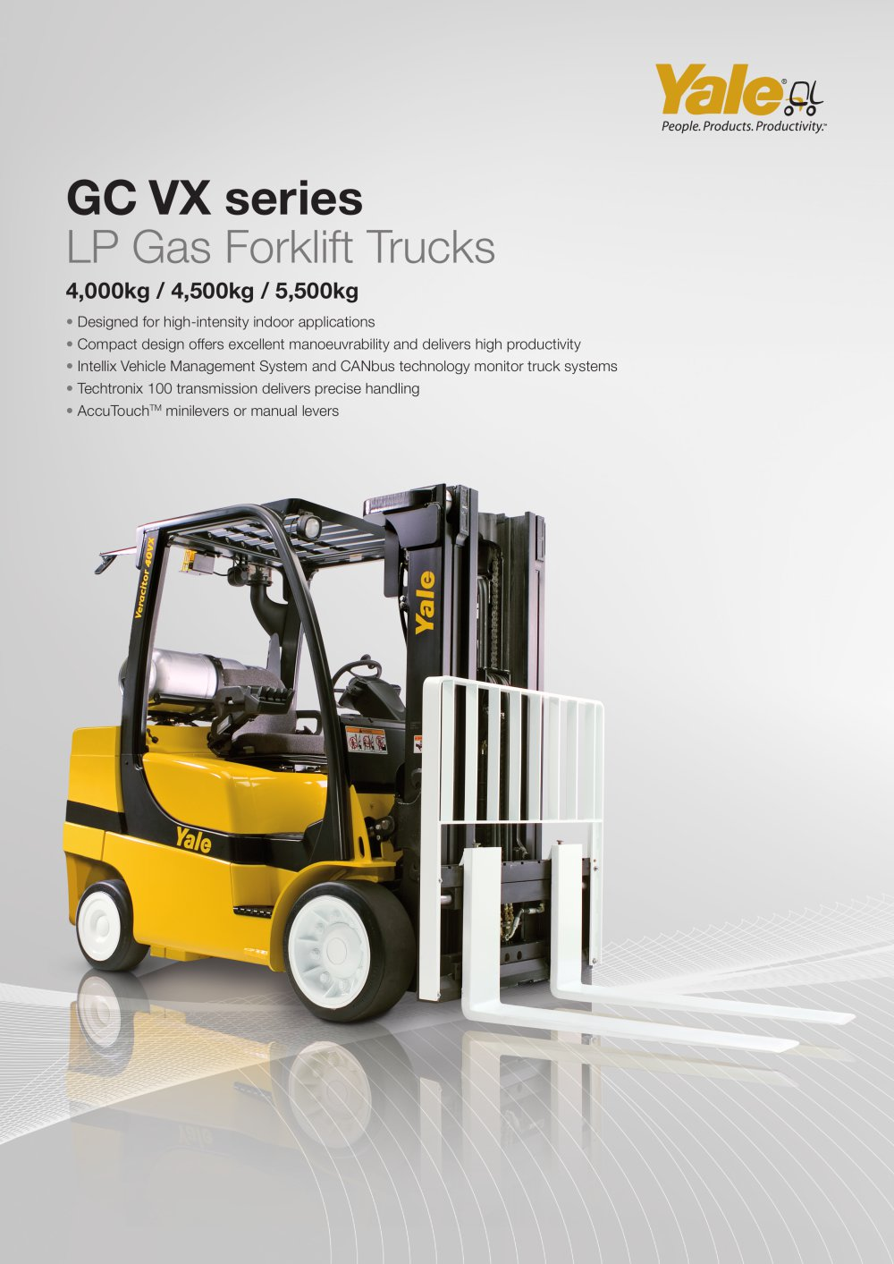 Glc40 55vx Yale Pdf Catalogue Technical Documentation Brochure Hyster 45 Forklift Wiring Diagram 1 8 Pages