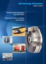 Catalog Pole-face friction clutches and Brakes