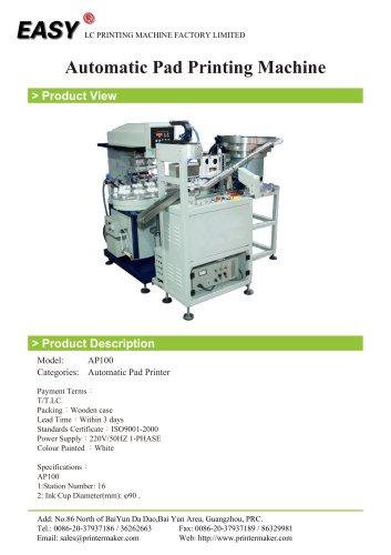 Automatic Pad Printing Machine - LC Printing Machine Factory