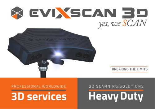 eviXscan 3D Scanner - Electronica Mechatronic Systems (I) Pvt Ltd