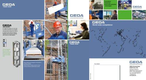 Brochure GEDA 1500 Z/ZP - GEDA-Dechentreiter GmbH & Co  KG - PDF