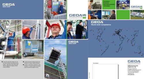 Brochure GEDA 500Z/ZP - GEDA-Dechentreiter GmbH & Co  KG - PDF