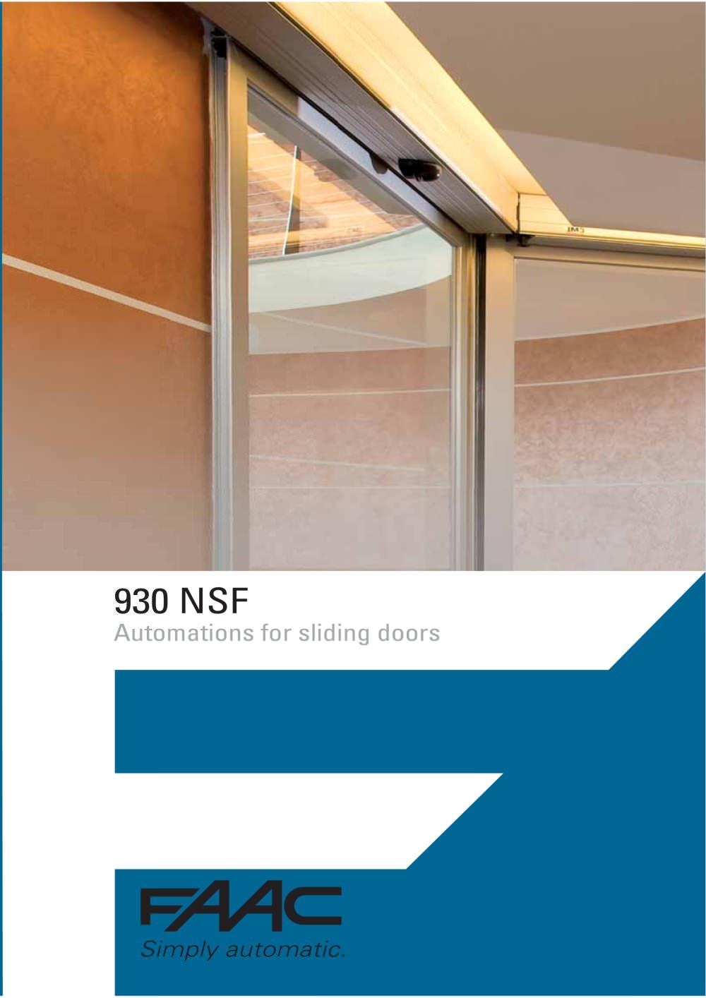 Sliding door s800 - 930 Automatic Sliding Door 1 6 Pages