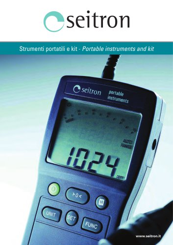 portable instruments and installers kits