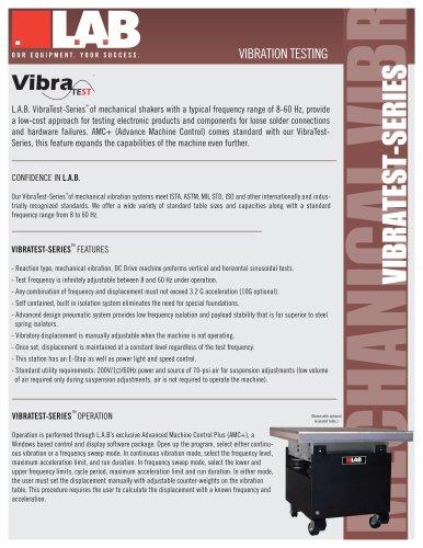 VibraTest? Series Mechanical Vibration