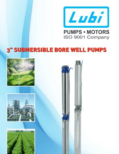 "3"" Noryl submersible pump"
