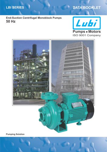 Centrifugal Pumps (2.0 to 10.0 HP).