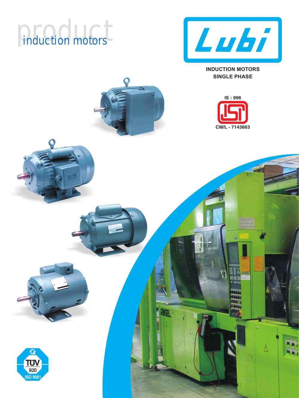 Single Phase Induction Motors (0.25 to 3.0 HP). - LUBI INDUSTRIES ...