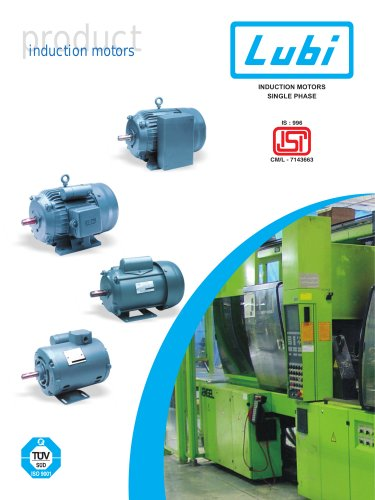 Single Phase Induction Motors (0.25 to 3.0 HP).