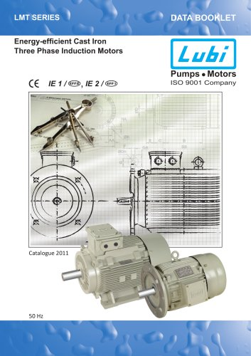 Three Phase Induction Motors(0.25 to 60.0 HP).