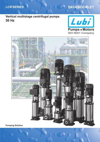 Vertical Multistage Pumps 50 Hz.