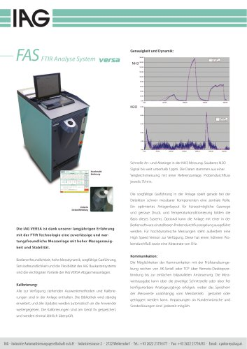FAS FTIR-Analyser system