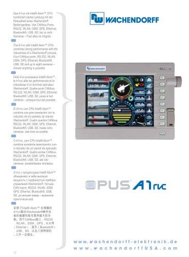 OPUS A1rvc Technical Data