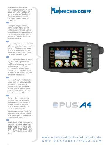 OPUS A4 Technical Data
