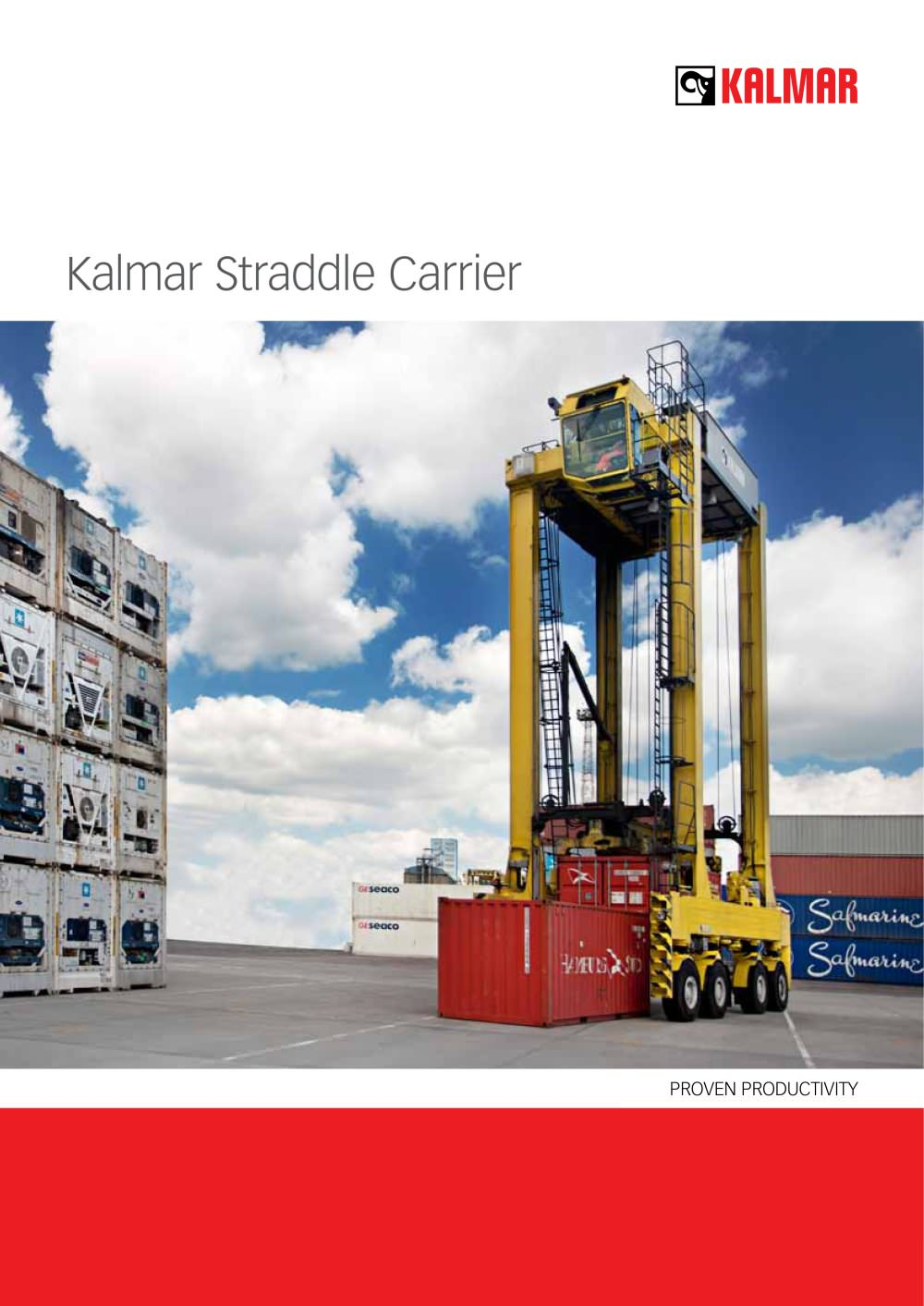 Kalmar Straddle carriers - 1 / 12 Pages