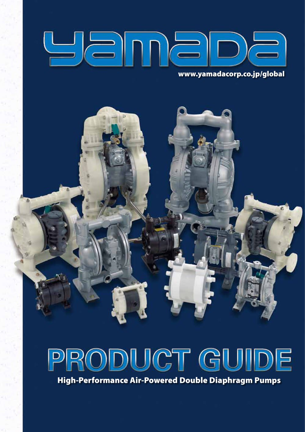 Diaphragm pump product guide yamada corporation pdf catalogue diaphragm pump product guide 1 32 pages ccuart Images