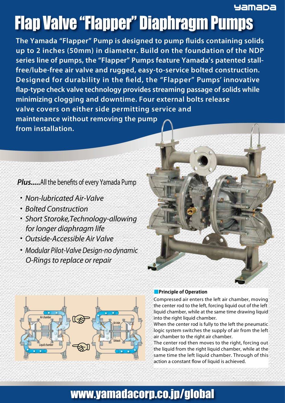 Flap valve flapper diaphragm pumps yamada corporation pdf flap valve flapper diaphragm pumps 1 4 pages ccuart Gallery