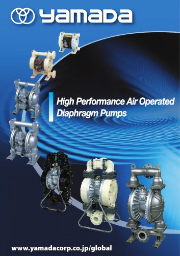 High Performance Air Operated Diaphragm Pumps
