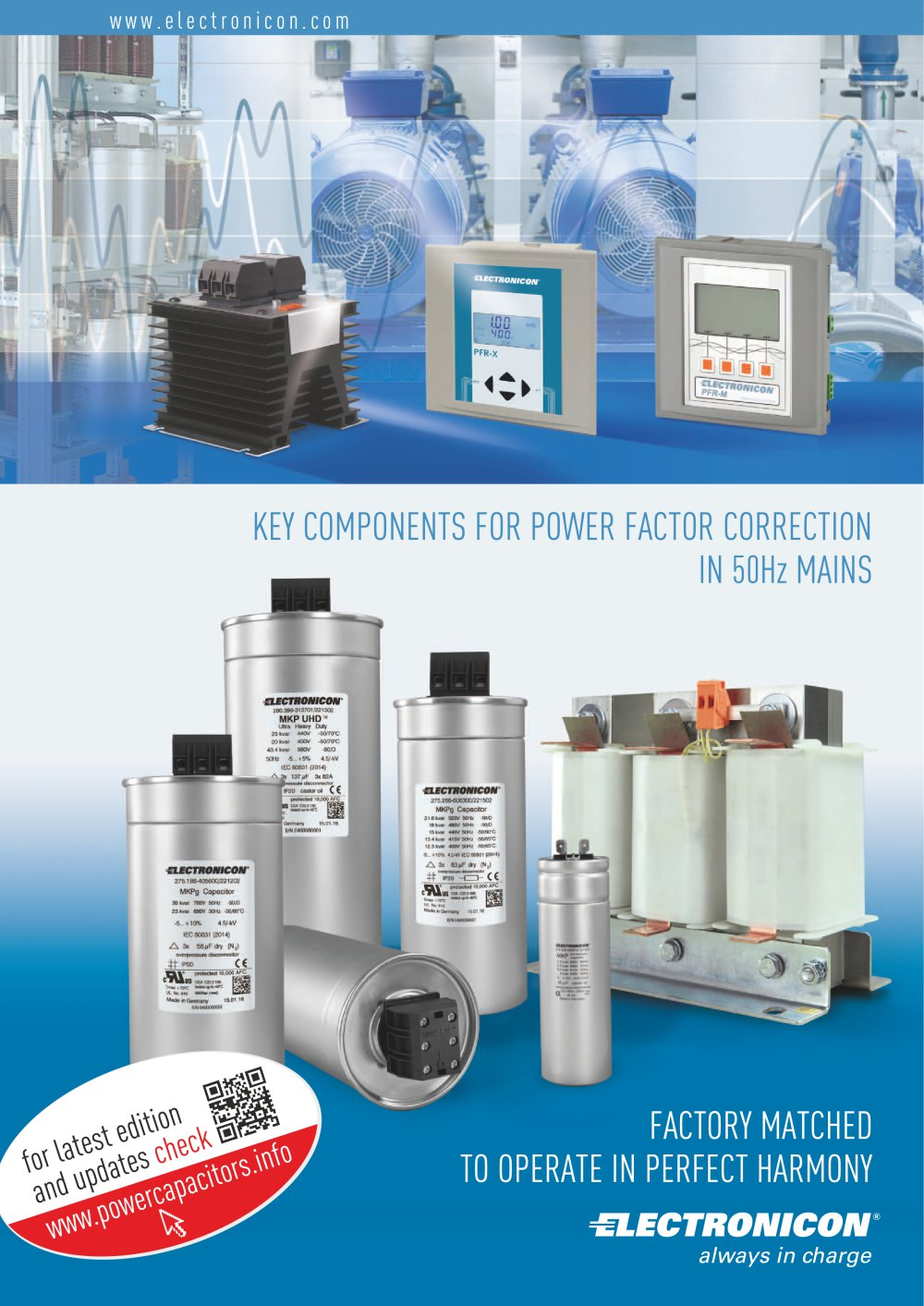 Power Capacitors Complete Catalogue Electronicon Kondensatoren Mediumvoltage Switchgear Switching Of And Filter Circuits 1 84 Pages