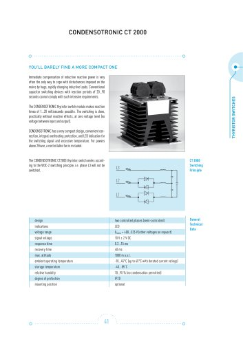 Power capacitors Complete Catalogue (English/German)