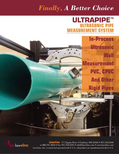 UltraPipe - LaserLinc - PDF Catalogs | Technical
