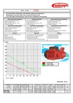 CATALOGUE SURFACE ELECTRIC PUMPS