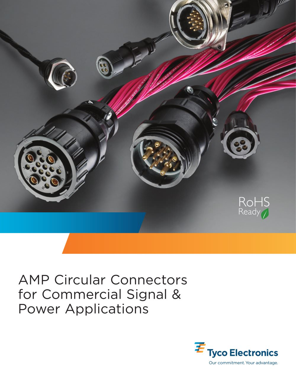 AMP Circular Connectors for Commercial Signal & Power Applications ...