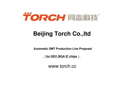 Automatic IC chips Production Line