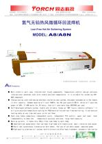 Conveyor  Hor air Reflow Oven 8 zones A8